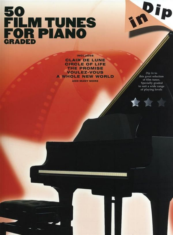 50 Film Tunes: for piano (graded)