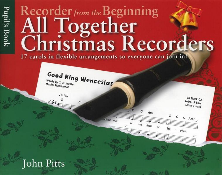All together Christmas Recorder pupil\