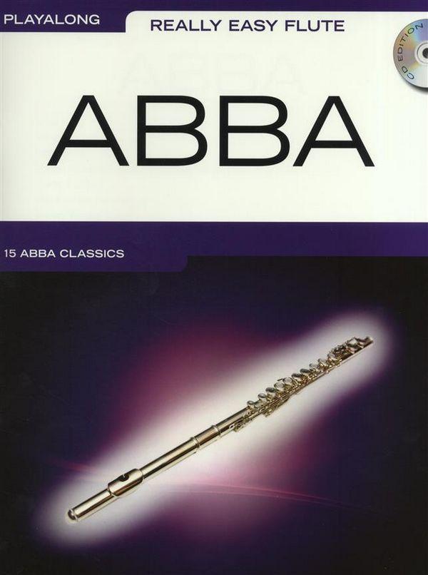 ABBA (+CD): for really easy flute