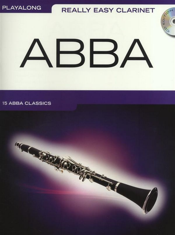 Abba (+CD): for really easy clarinet