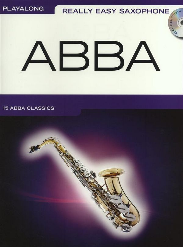 Abba (+CD): for really easy saxophone