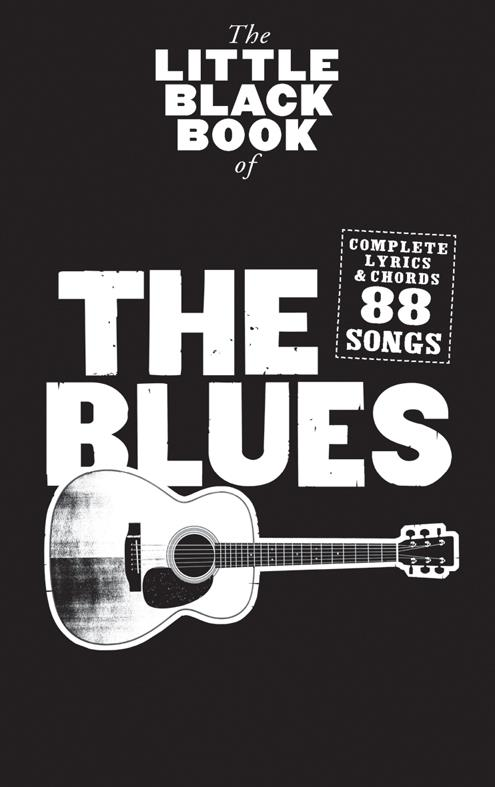 The Blues: the little black Book songbook lyric/chords/guitar boxes