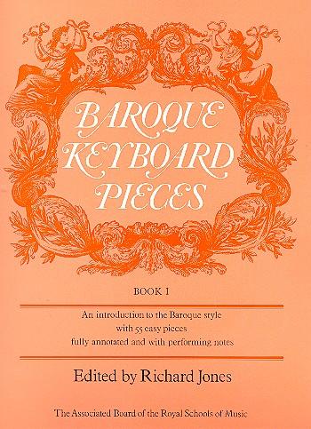 - Baroque Keyboard Pieces vol.1 :