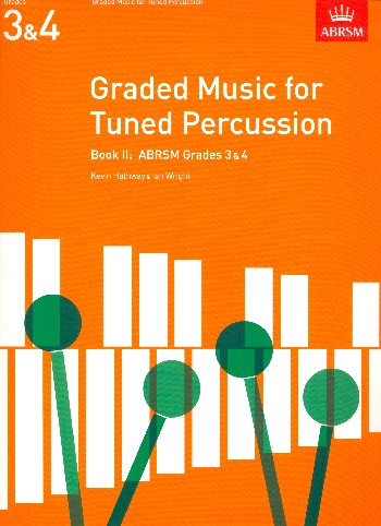 Graded Music  vol.2 grades 3+4: for tuned percussion