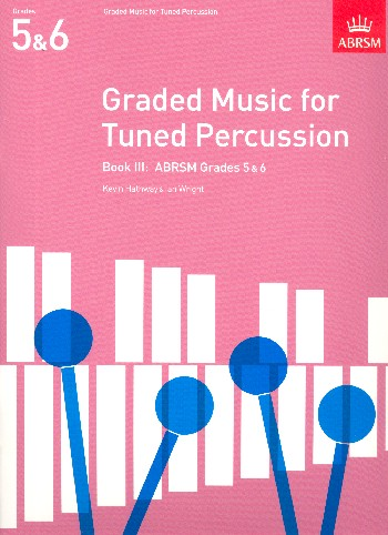 Graded Music for tuned Percussion vol.3 grade 5+6