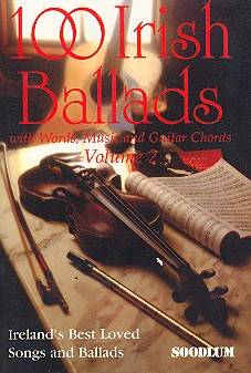 100 Irish Ballads vol.2: Songbook with words/music/guitar chords
