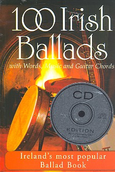 100 Irish Ballads (+CD): Songbook Melody Line with Words and Guitar Chords