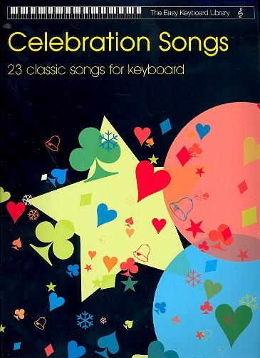 Celebration Songs: for keyboard (en)