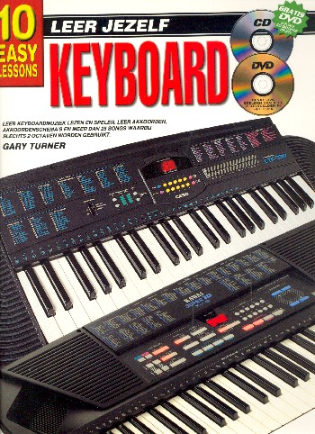 10 easy Lessons (+CD +DVD): voor keyboard (nl)