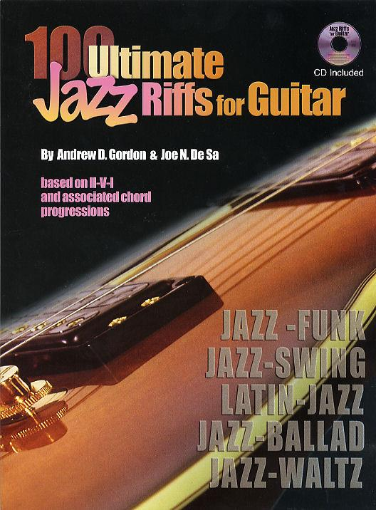 100 Ultimate Jazz Riffs (+CD): for Guitar