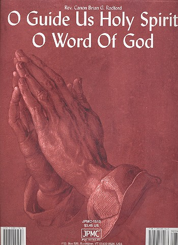 O guide us Holy Spirit and O Word of God: for piano/vocal/guitar