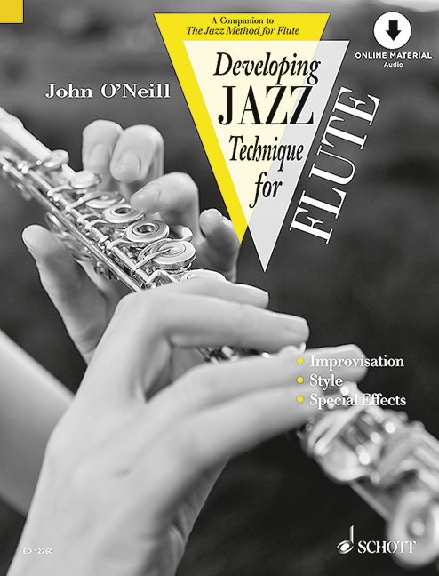 Developing jazz technique for flute (+CD)