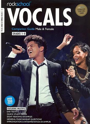 Rockschool Vocals Companion Guide Grades 1-8: for male or female singers