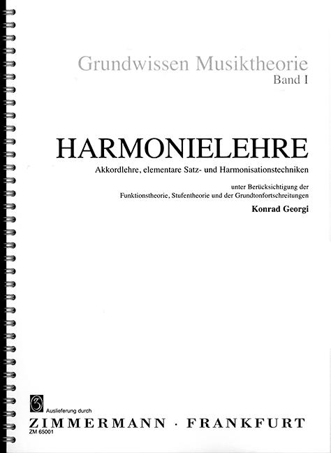 Georgi, Konrad - Grundwissen Musiktheorie Band 1 :