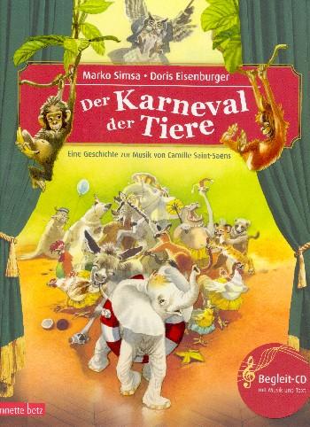 Simsa, Marko - Der Karneval der Tiere (+CD) :