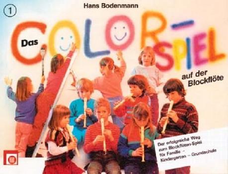 Bodenmann, Hans - Das Colorspiel auf der Blockflöte