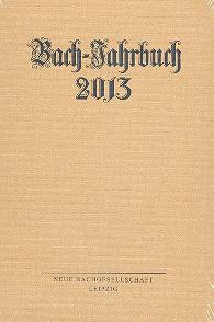 Bach-Jahrbuch 2013