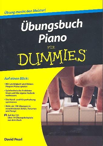 Pearl, David - Übungsbuch Piano für Dummies (+CD)