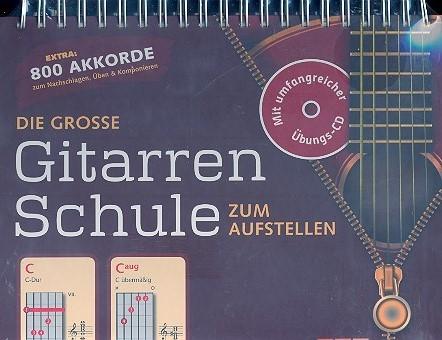 Die große Gitarrenschule zum Aufstellen (+CD)