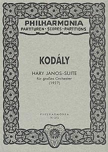 Hary-Janos-Suite: für Orchester Studienpartitur