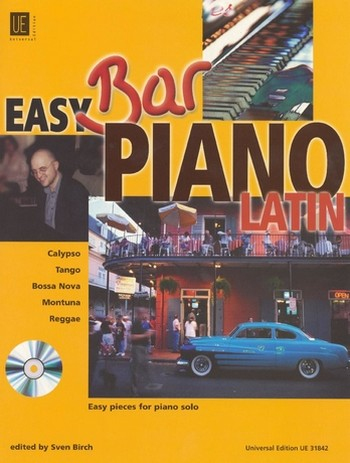 Easy Bar Piano Latin (+CD): Easy Pieces for piano solo