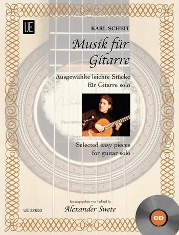 - Musik für Gitarre (+CD) :
