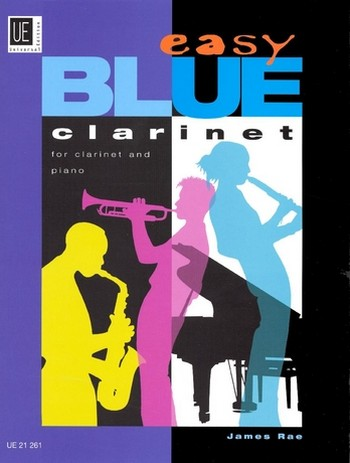 Easy blue clarinet: for clarinet and piano