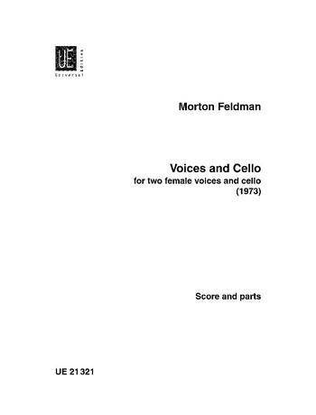 Voices and cello: für 2 Frauenstimmen und Violoncello, 2 Partituren und