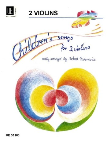- Childrens Songs : for 2 violins