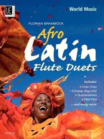 Afro-Latin Flute Duets: für 2 Flöten Spielpartitur