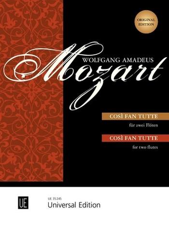 Mozart, Wolfgang Amadeus - Così fan tutte : für 2 Flöten
