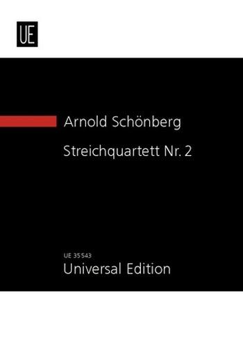 Schönberg, Arnold - Streichquartett fis-Moll Nr.2 op.10 :