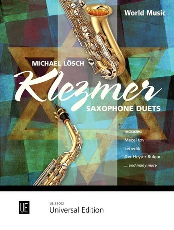 Klezmer Saxophone Duets: für 2 Saxophone (AA/TT)