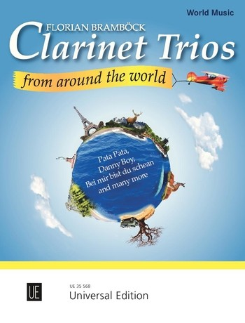 Clarinet Trios from around the World: für 3 Klarinetten