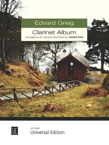 Grieg, Edvard Hagerup - Clarinet album : for clarinet and piano