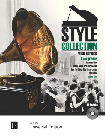 Style Collection - Evergreens (+CD): for piano