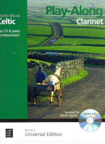 Celtic Play-Along (+MP3-CD): for clarinet and piano