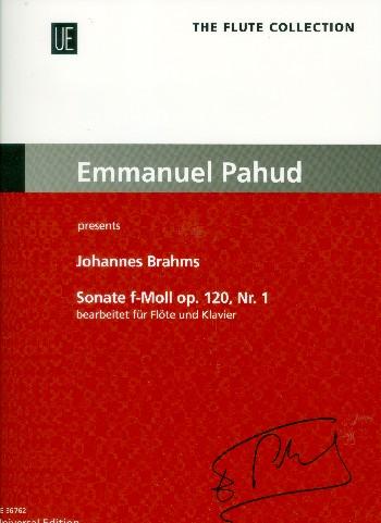 Sonate f-Moll op.120,1 : - Vollanzeige.