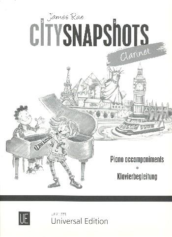 City Snapshots: für Klarinette und Klavier