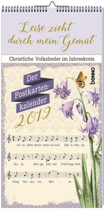 Kalender Leise zieht durch mein Gemüt 2019 - Vollanzeige.