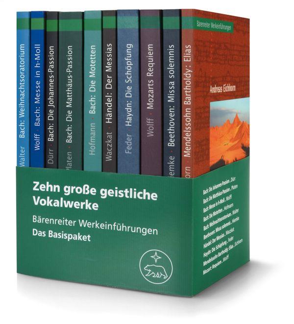 10 große geistliche Vokalwerke: Werkeinführungen (Basispaket)