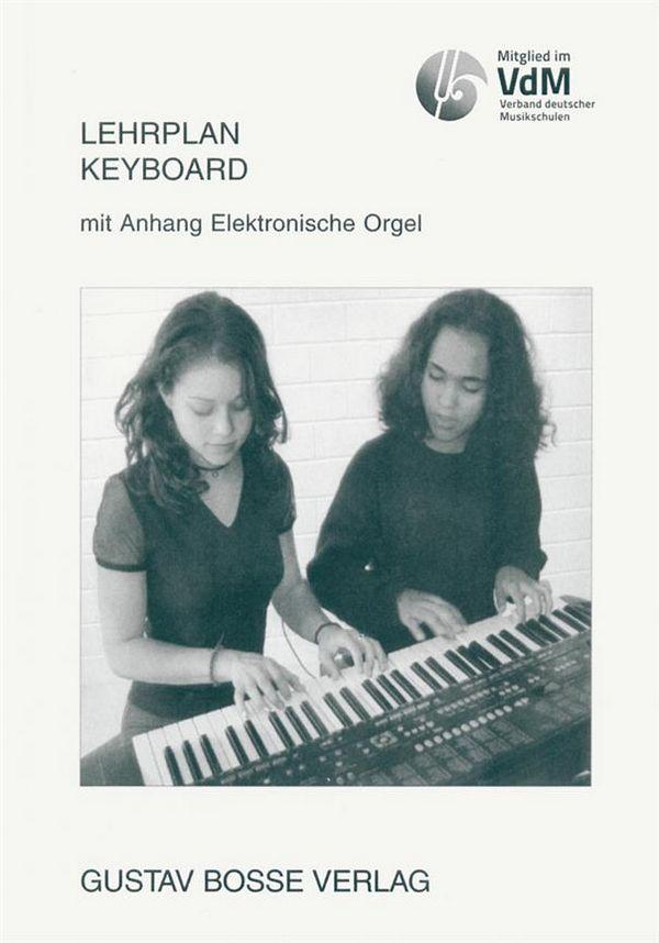 - Lehrplan Keyboard mit Anhang