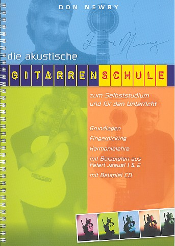 Die akustische Gitarrenschule (+CD)