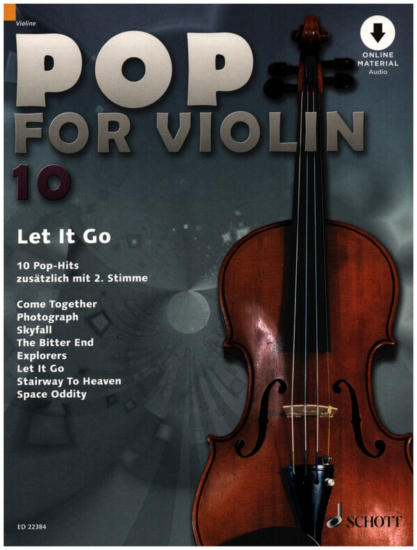 Pop for Violin Band 10 (+CD) : - Vollanzeige.