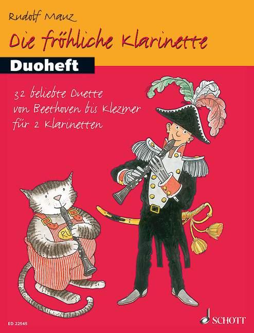 Die fröhliche Klarinette Band 1 - Duoheft: für 2 Klarinetten