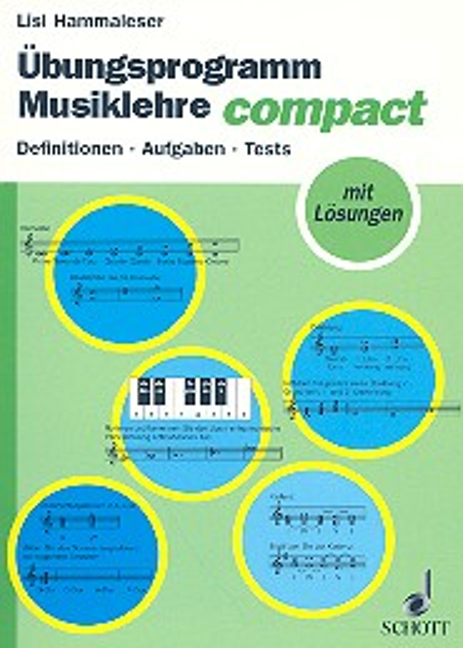 Übungsprogramm Musiklehre compact: Definitionen, Aufgaben, Tests