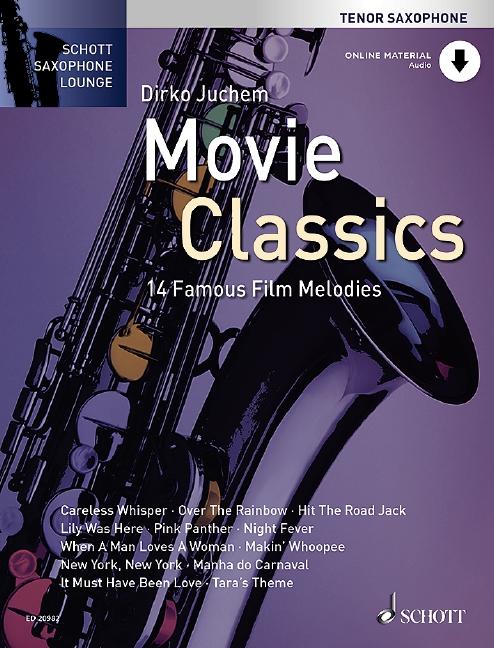 - Movie Classics (+CD) : für Tenorsaxophon