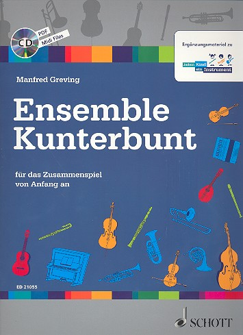 Greving, Manfred - Ensemble Kunterbunt (+Midifiles) :