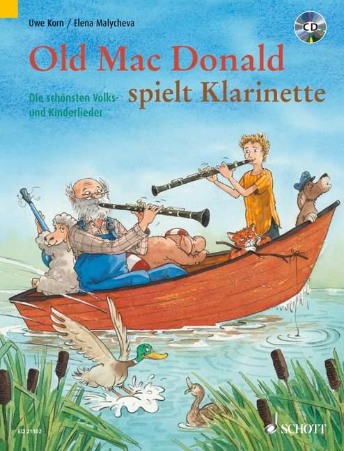 - Old Mac Donald spielt Klarinette (+CD) :