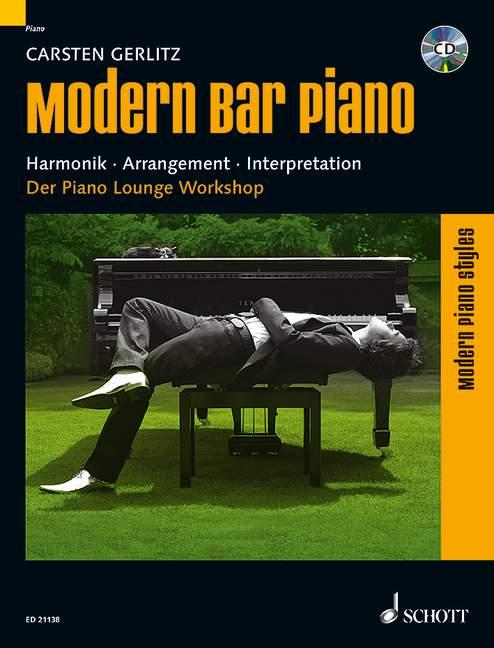 Gerlitz, Carsten - Modern Bar Piano (+CD)